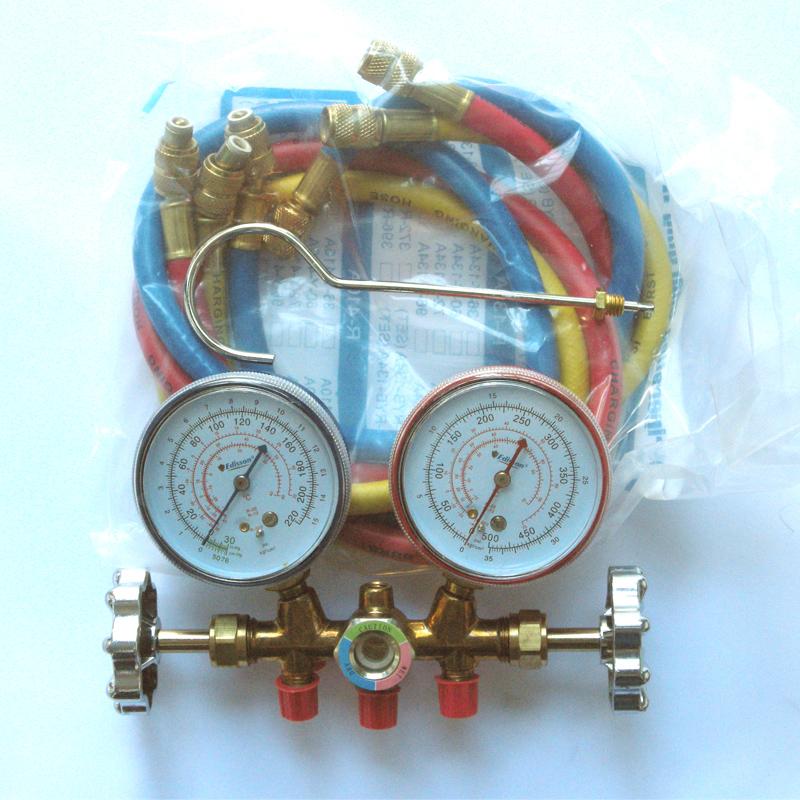 manometro para aire acondicionado